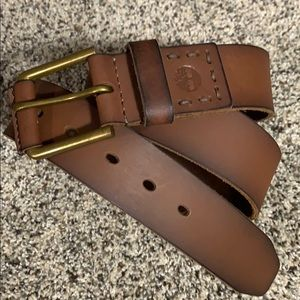 New Timberland Leather Belt  •Size 32•